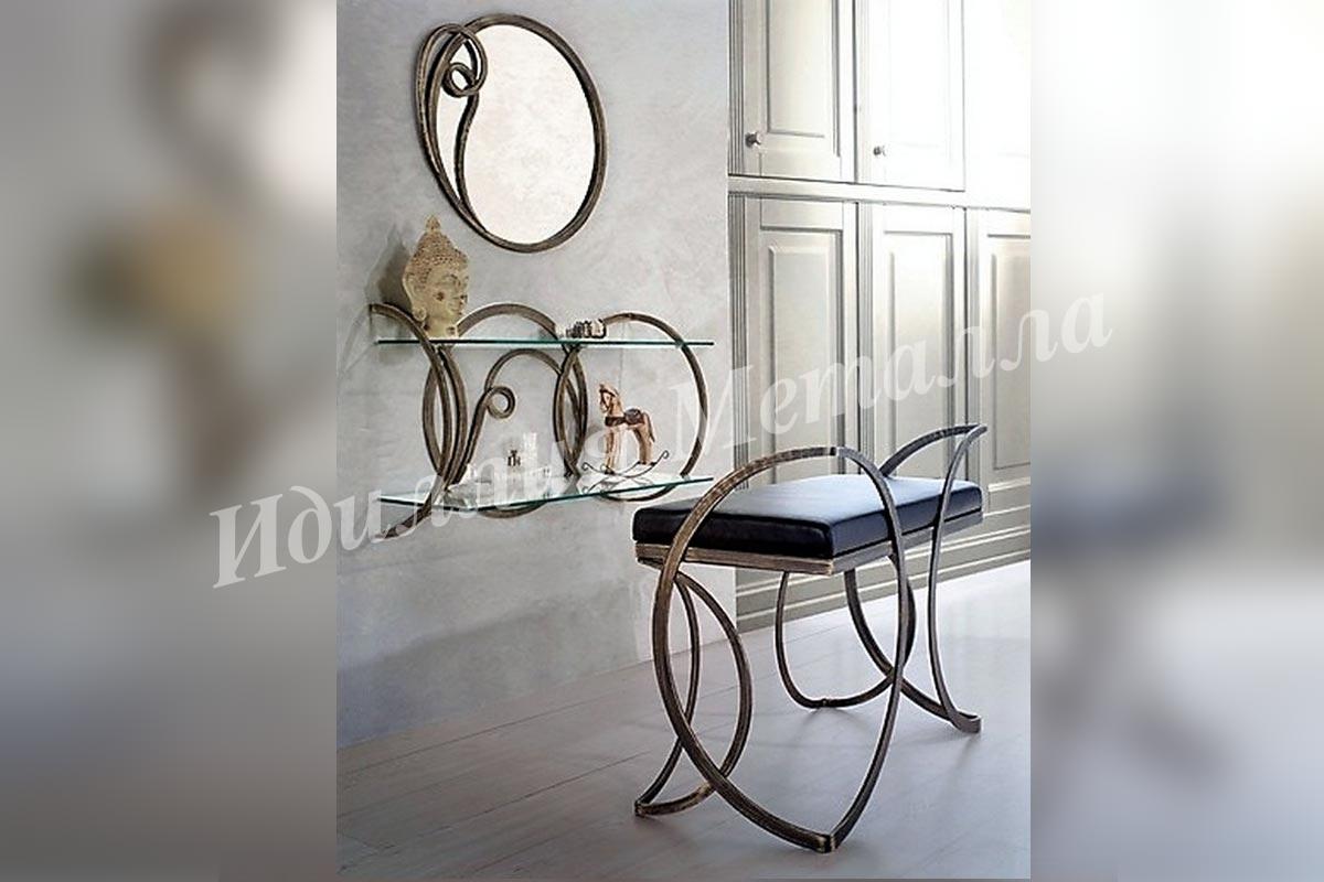 Туалетный столик в стиле Лофт BUD-LOFT-010