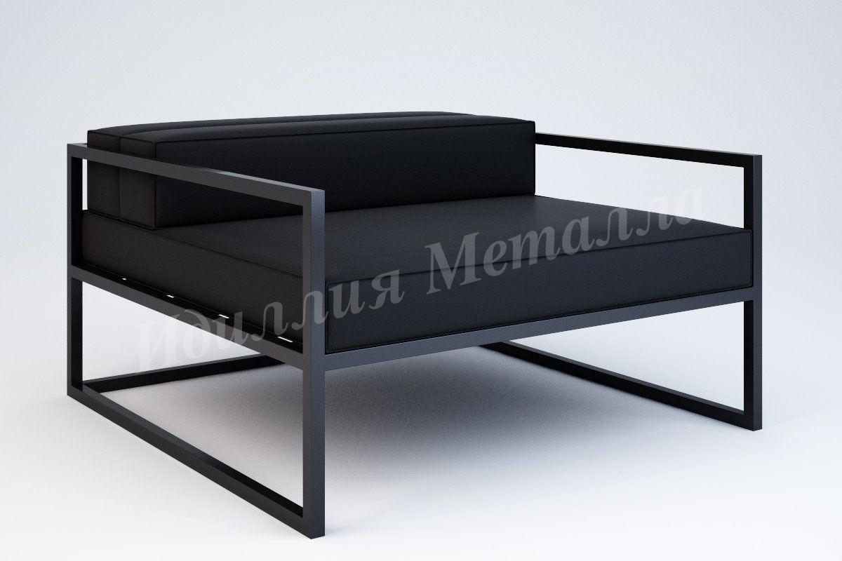 Кованое кресло в стиле Лофт KRESLO-LOFT-013