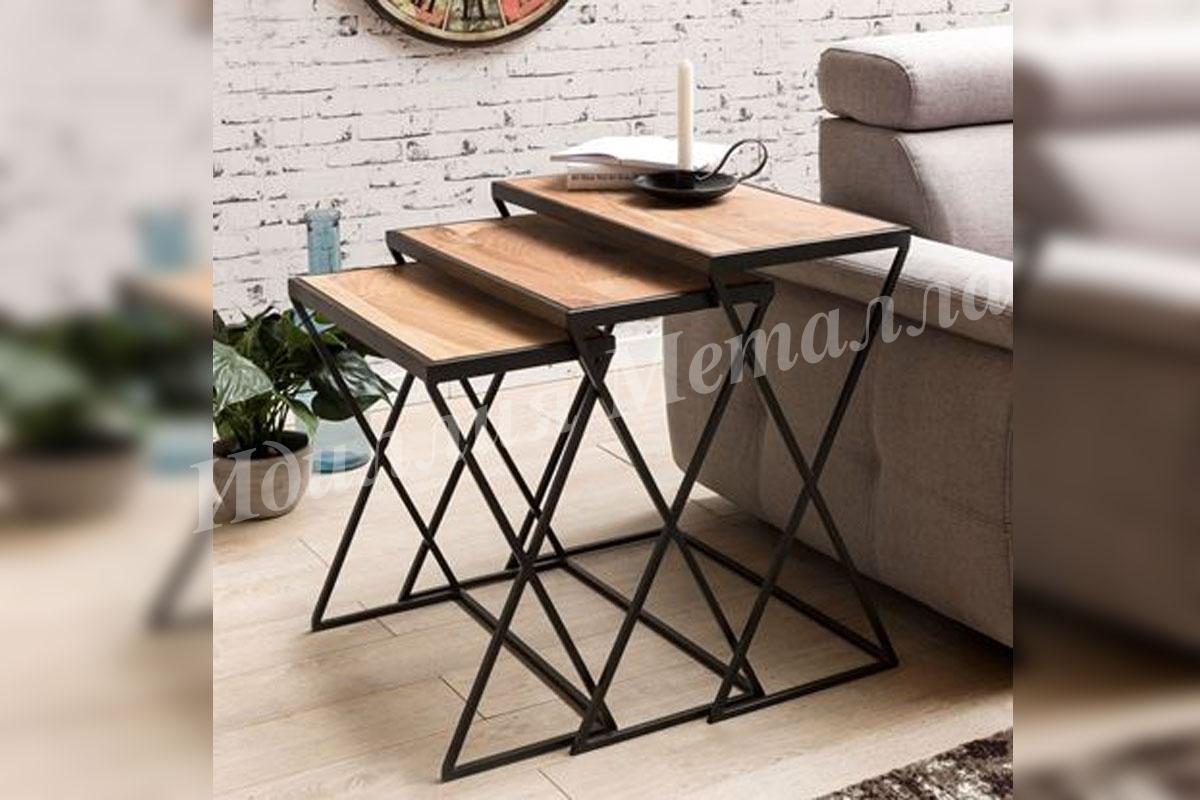 Комплект кофейных столиков Лофт LOFT-COFE-066