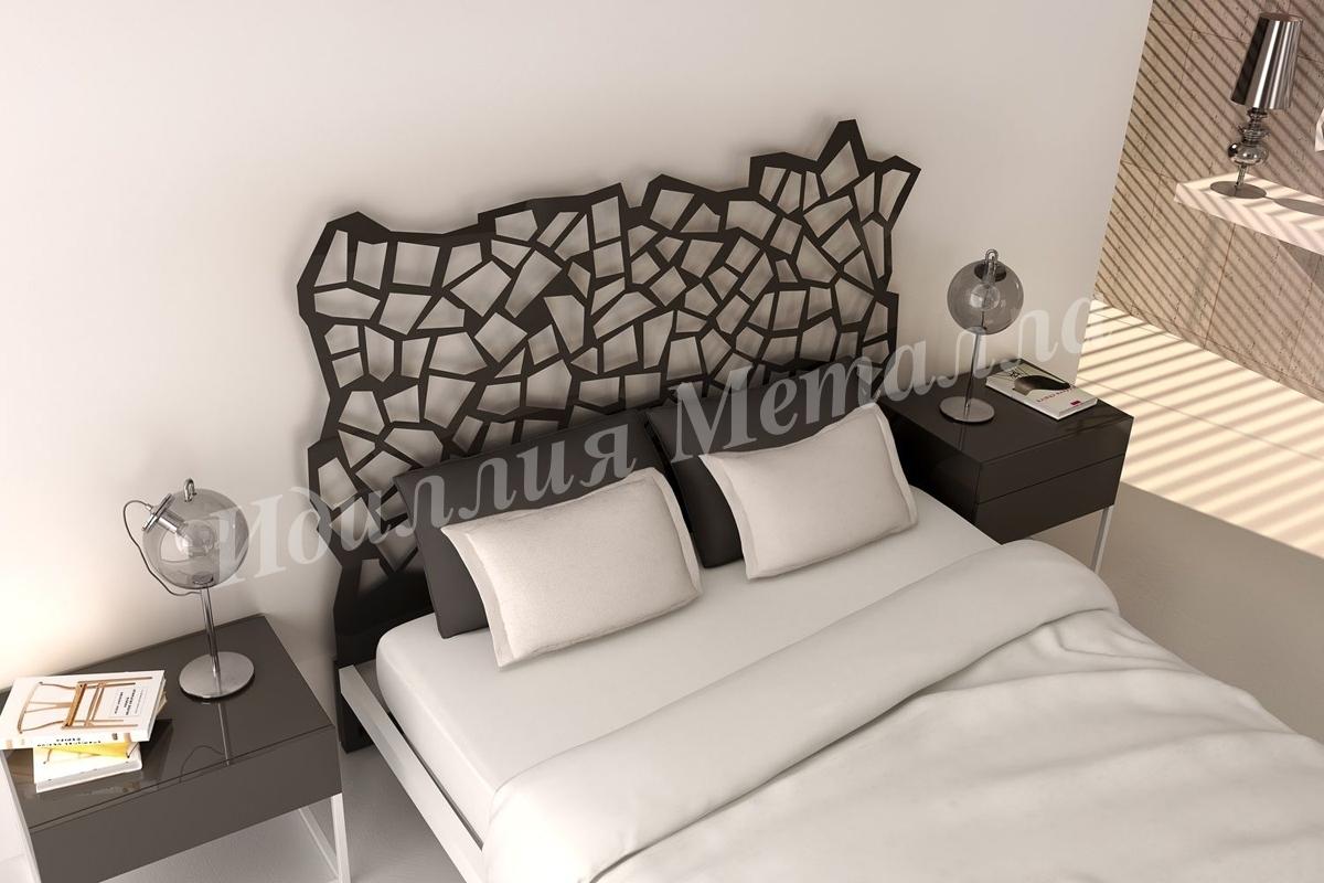 Кровать из металла LZ-006