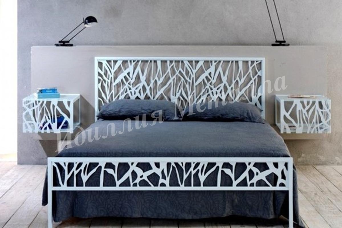 Кровать из металла LZ-007