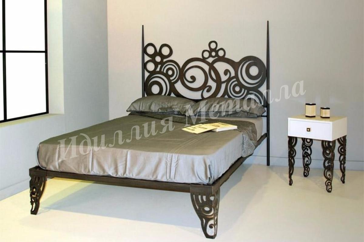 Кровать из металла LZ-008