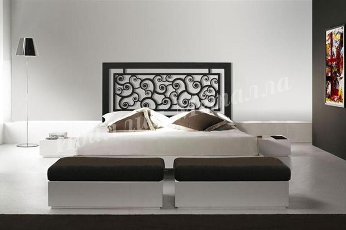 Кровать из металла LZ-010