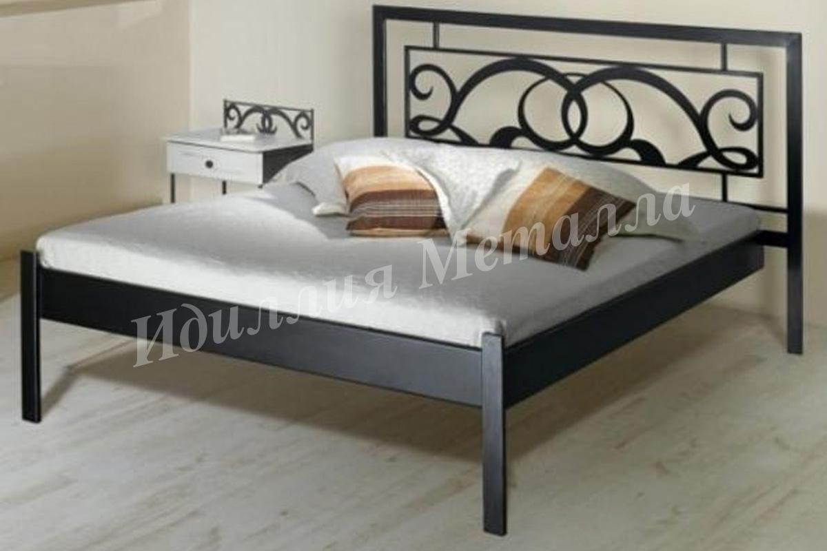 Кровать из металла LZ-013