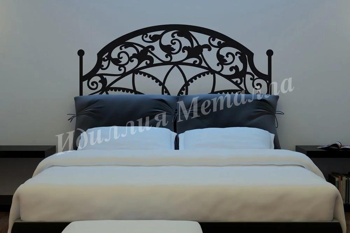 Кровать из металла LZ-015
