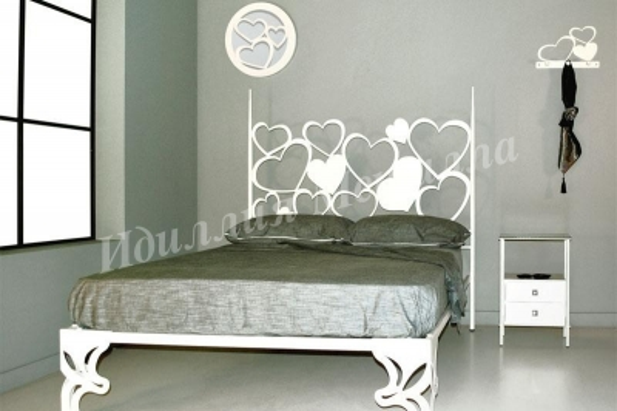 Кровать из металла LZ-017