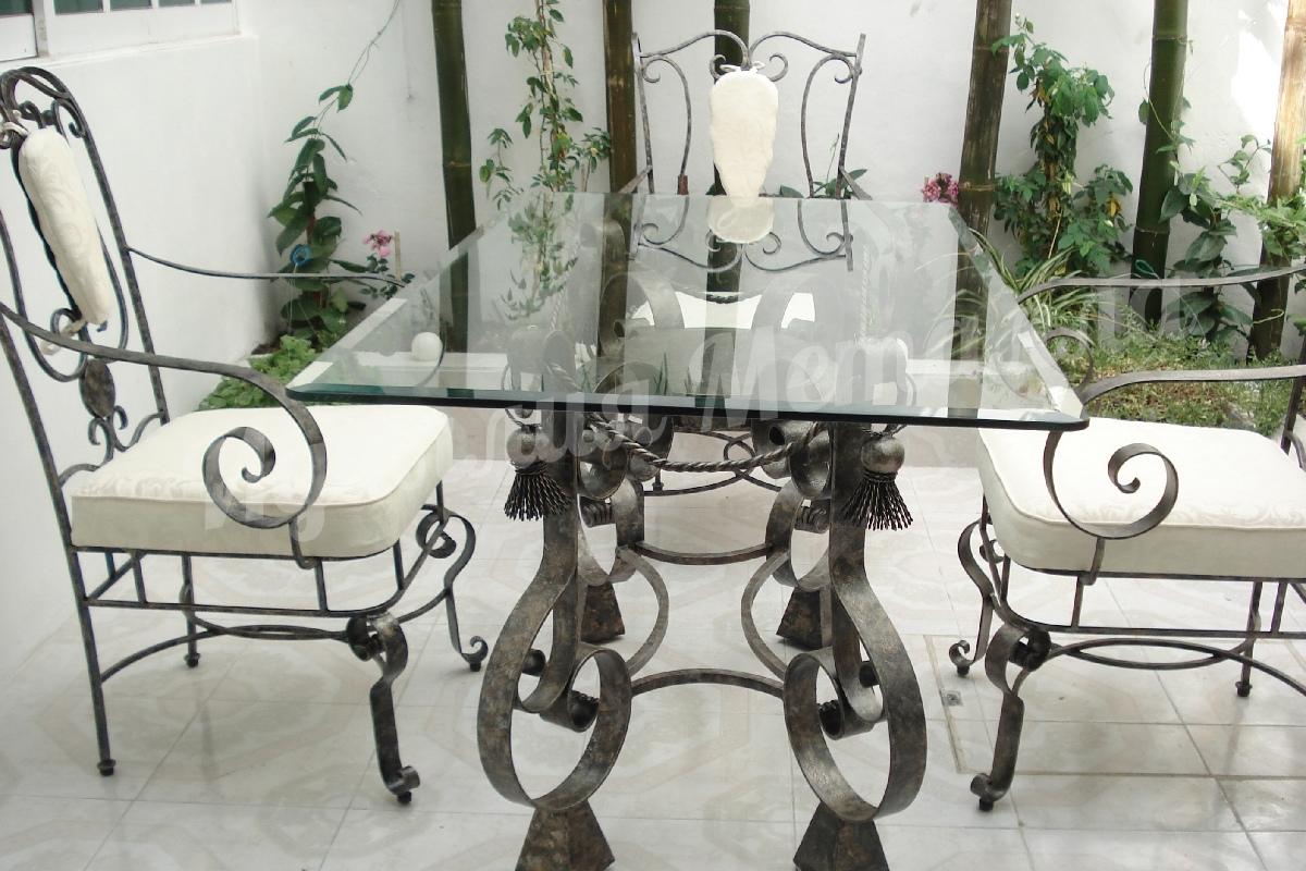 Кованый стол STOL-027