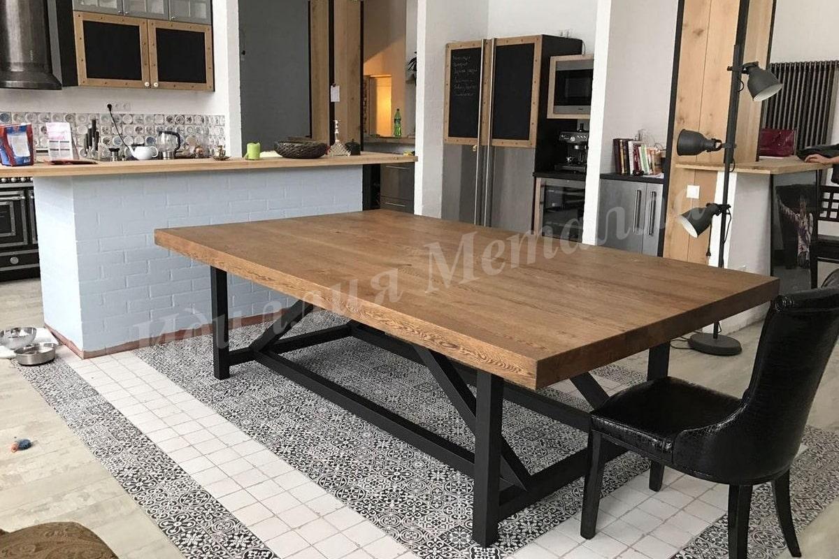 Обеденный стол Лофт STOL-LOFT-004