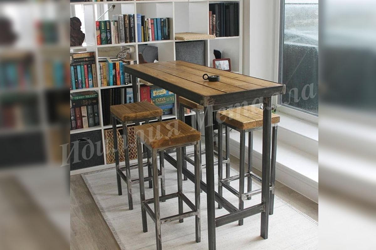 Обеденный стол Лофт STOL-LOFT-020