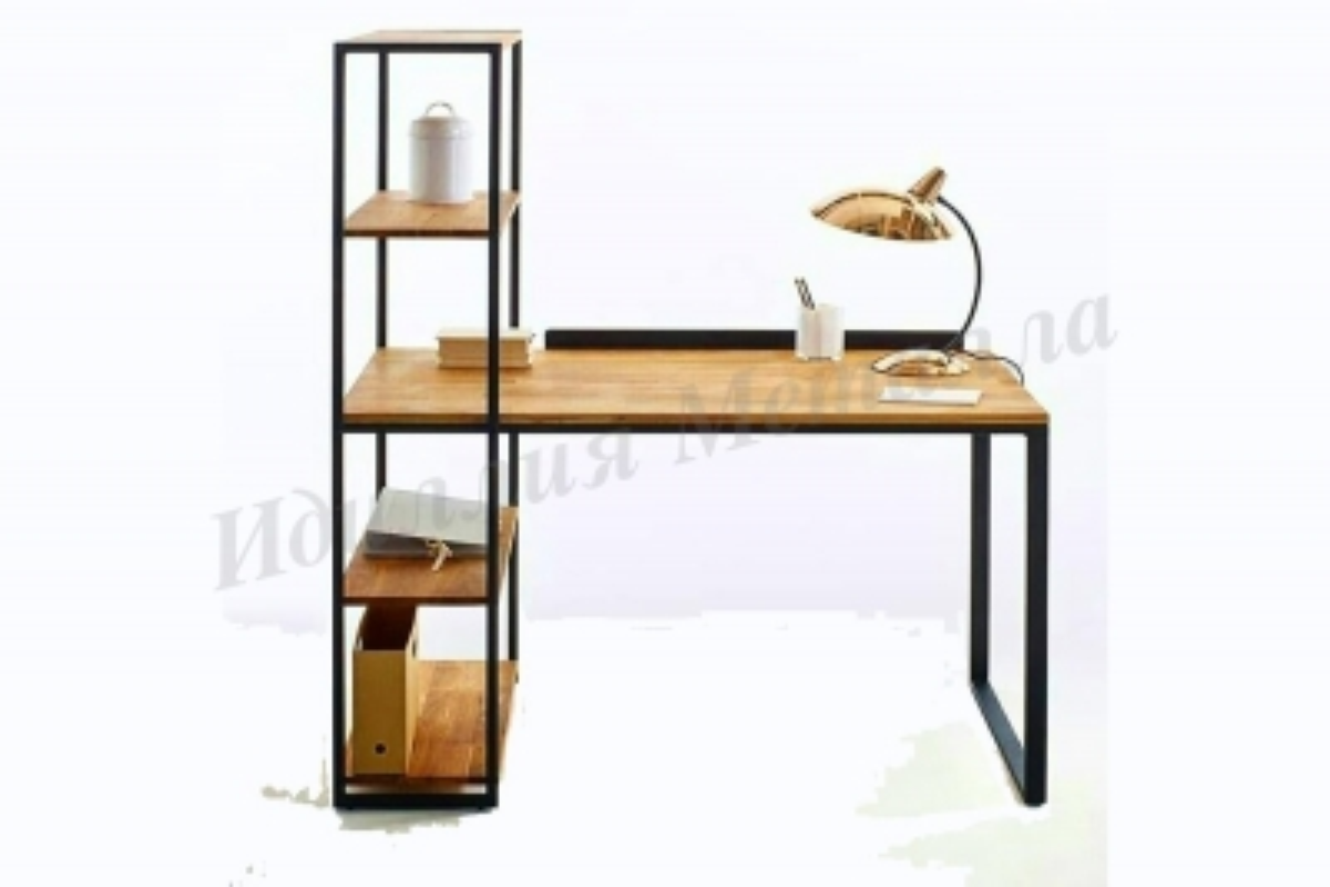 Компьютерный стол Лофт STOL-WRITE-015